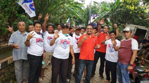 Caleg DPR RI Yudhistira Ikhsan Pramana, Sosialisasikan Program Operasi Bibir Sumbing Gratis kepada Masyarakat (foto: Hambali/Okezone)