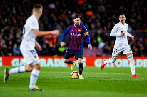 Barcelona vs Valencia (Foto: Twitter La Liga)