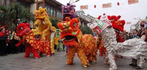 Barongsai sebagai warisan budaya Tionghoa