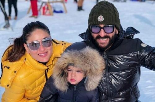 Kareena Kapoor, Taimur, dan Saif