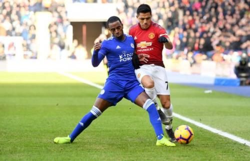 Leicester City vs Man United (Foto: Man United/Twitter)