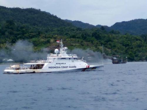Kapal Bakamla RI. (Foto: Wikipedia.org)