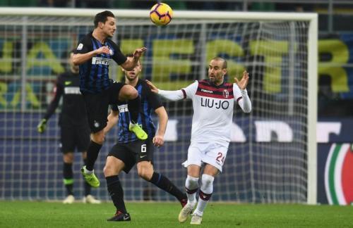 Inter Milan vs Bologna (Foto: Inter Milan/Twitter)