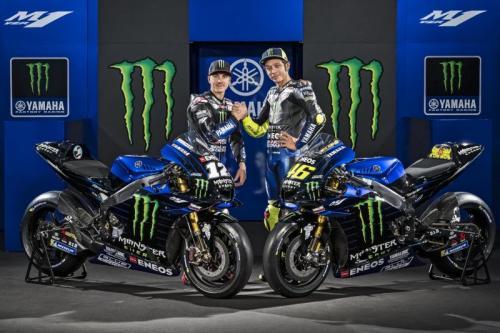 Maverick Vinales dan Valentino Rossi