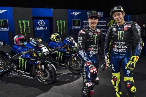 Maverick Vinales dan Valentino Rossi (Foto: Laman resmi MotoGP)