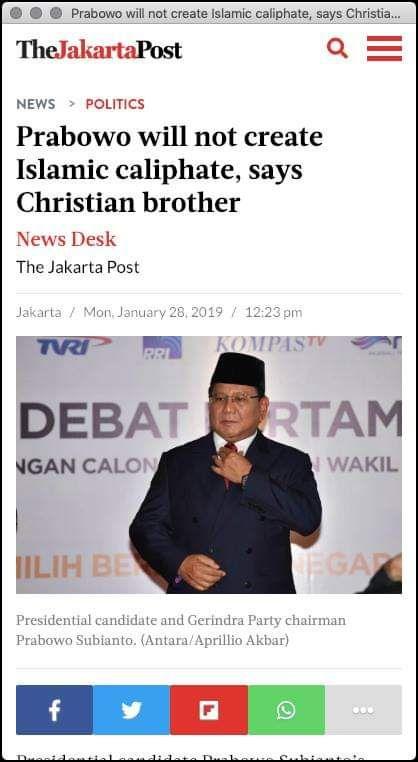 Cek Fakta Prabowo Sakit Stroke sehingga Tak Hadiri Konsolidasi Nasional PKS (foto: Ist)