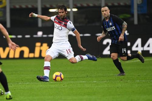 Inter Milan vs Bologna (Foto: Bologna/Twitter)