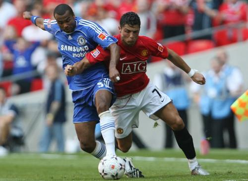 Ashley Cole vs Ronaldo