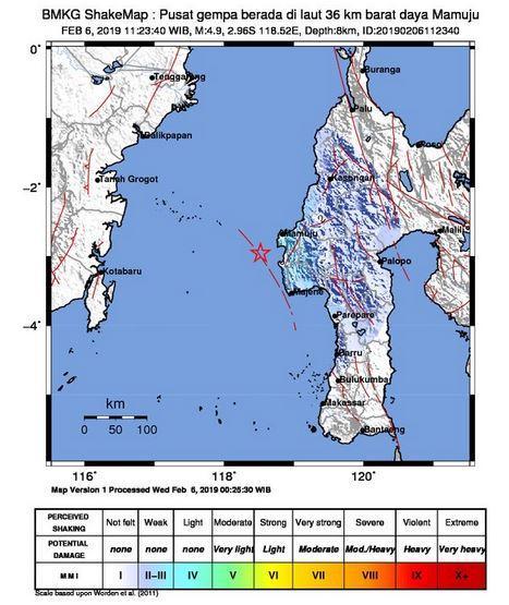 Gempa Sulbar
