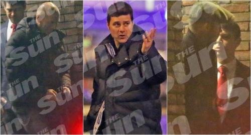 Zidane, Pochettino, Beckham (The Sun)