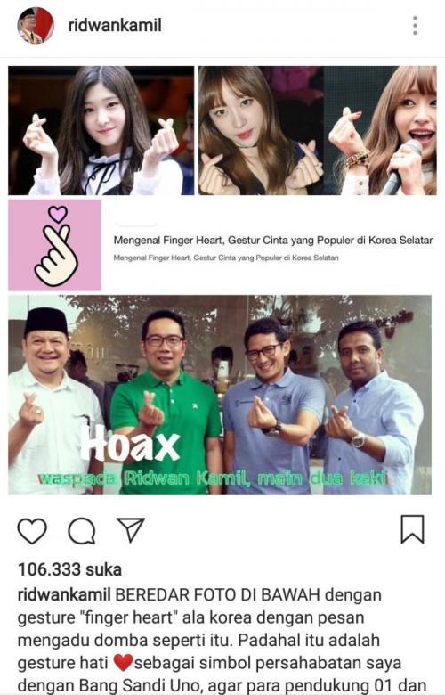Cek Fakta Foto Ridwan Kamil Bersama Sandiaga Uno (Ist)
