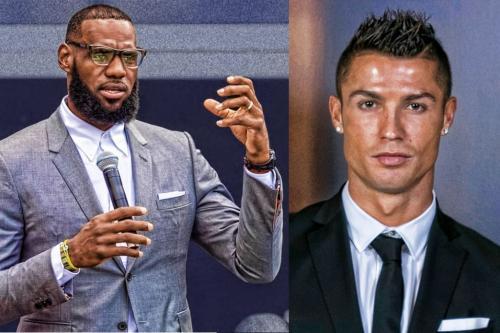 Cristiano Ronaldo dan LeBron James
