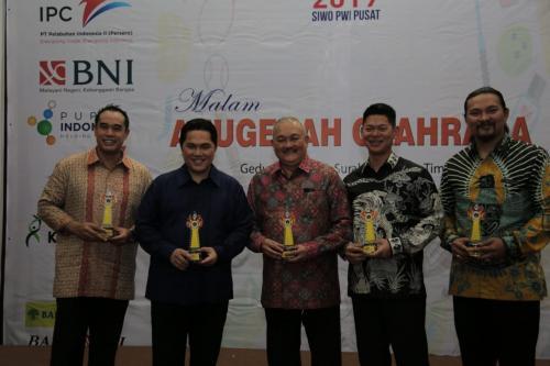 Erick Thohir mendapat award