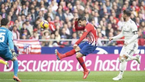 Laga Atletico Madrid vs Real Madrid