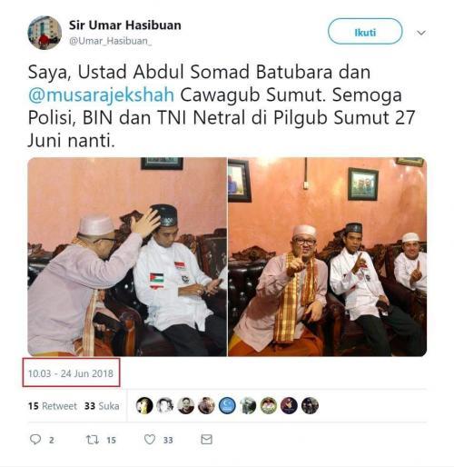 Fakta Satu Jari Jari Ustadz Abdul Somad (fb)