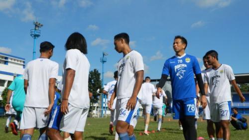 Persib Bandung berlatih