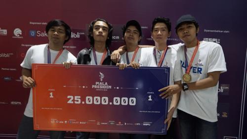 Juara 1 regional Bali Piala Presiden Esports 2019