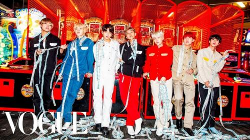 BTS for Vogue