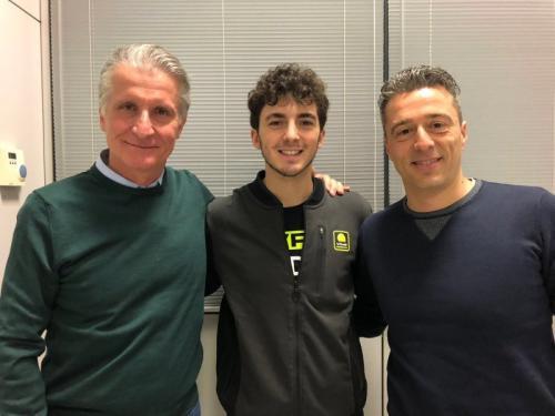 Paolo Ciabatti dan Francesco Bagnaia