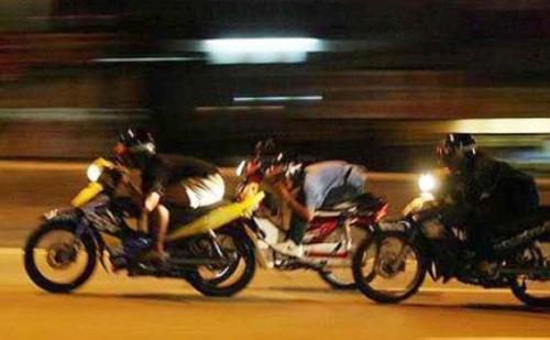 Ilustrasi balapan liar. (Foto: Okezone)