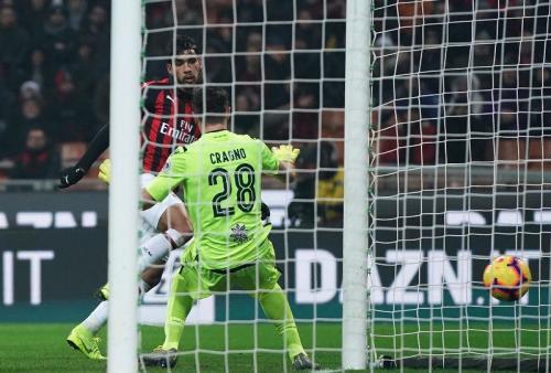 Lucas Paqueta menyumbang gol pertamanya untuk AC Milan (Foto: laman resmi AC Milan)