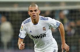 Pepe saat bermain di Real Madrid