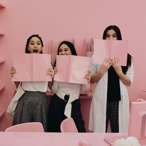 3 anak perempuan titi dj