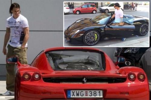 Mobil Enzo Ferrari milik Zlatan Ibrahimovic