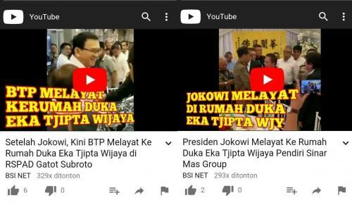 Fakta Hoaks Jokowi dan Ahok (fb)