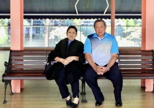 SBY-Ani Yudhoyono (Foto : Instagram/aniyudhoyono)