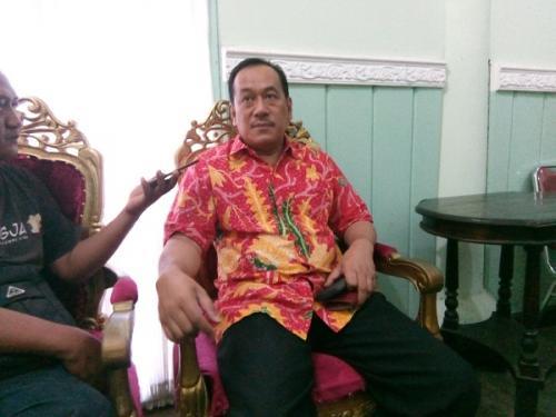 Juru Bicara Kerabat Keraton Kasunanan Surakarta Hadiningrat Eddy Wirabhumi. (Foto : Bramantyo)
