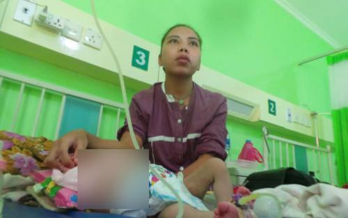Bayi Aisyah idap penyakit langka