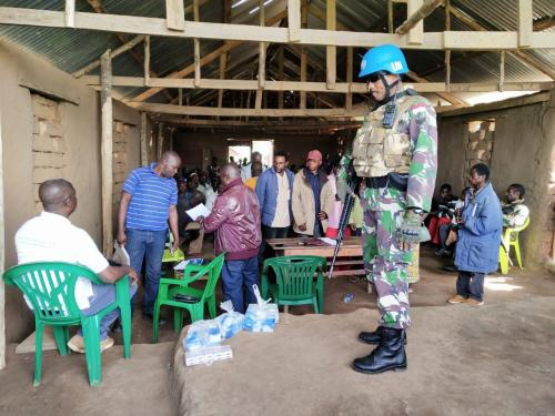 Satgas Konga fasilitasi pertemuan antarsuku