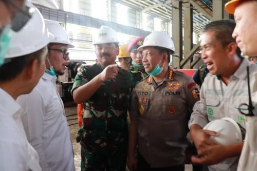 Panglima TNI di Morowali (Dok TNI)