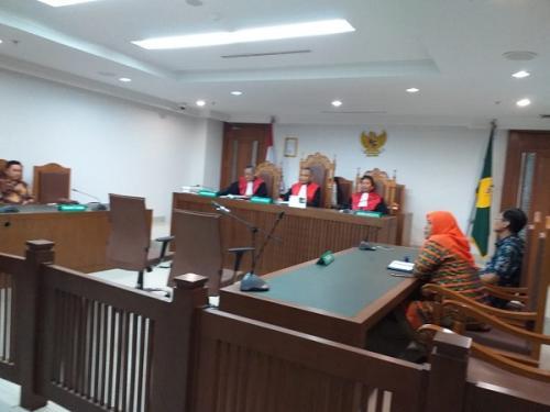 Sidang gugatan terhadap Dewan Pers di PN Jakpus. (Ist)