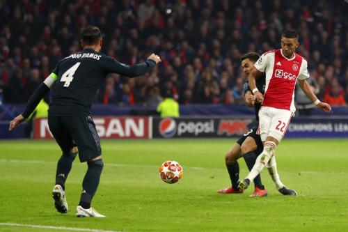 Laga Ajax Amsterdam vs Real Madrid