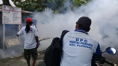 Caleg Perindo fogging