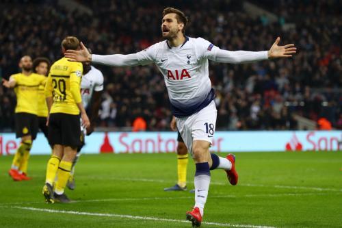 Tottenham Hotspur vs Borussia Dortmund (Foto: Twitter Liga Champions)