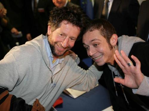 Graziano dan Valentino Rossi (Foto: Corriere Della Sport)