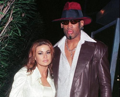 Carmen Electra dan Dennis Rodman