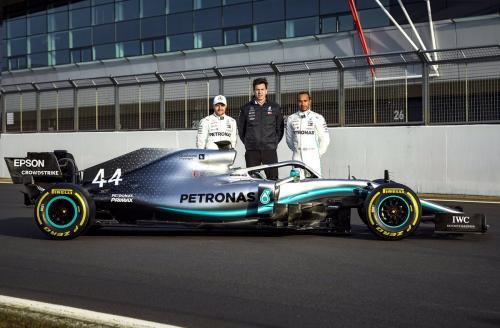 Tim Mercedes AMG Petronas F1