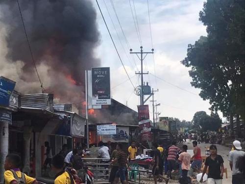 Kebakaran rumah di Sumut