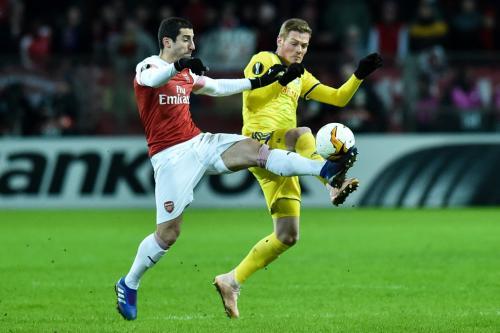 Laga BATE vs Arsenal