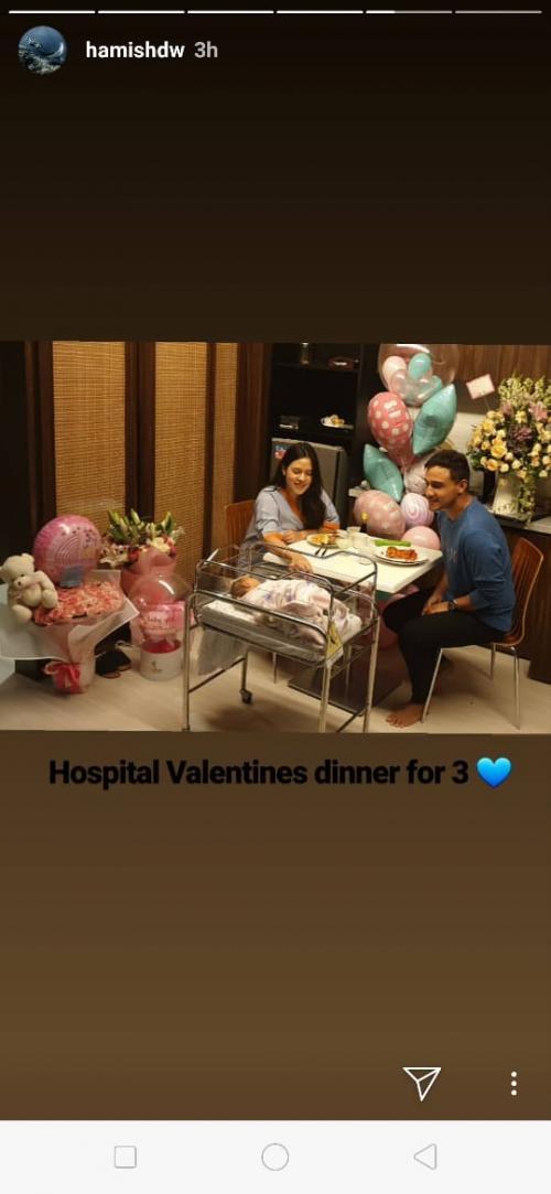 Raisa dan Hamish Daud (Foto: Instagram)
