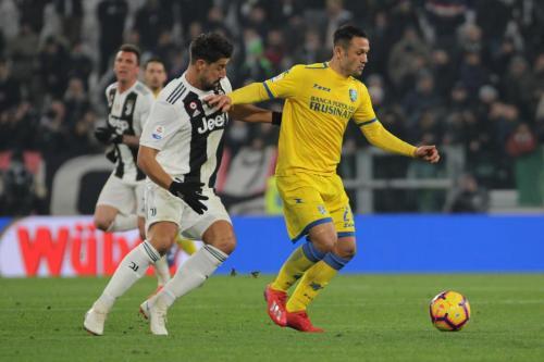 Juventus vs Frosinone (Foto: Frosinone Calcio/Twitter)