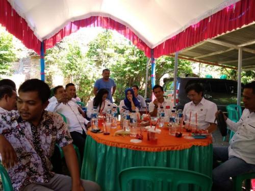 HUT Ke-3 GRIND Perindo di Rembang, Jawa Tengah (foto: Bramantyo/Okezone)