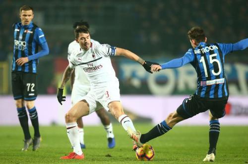 Atalanta vs AC Milan (Foto: laman resmi AC Milan)