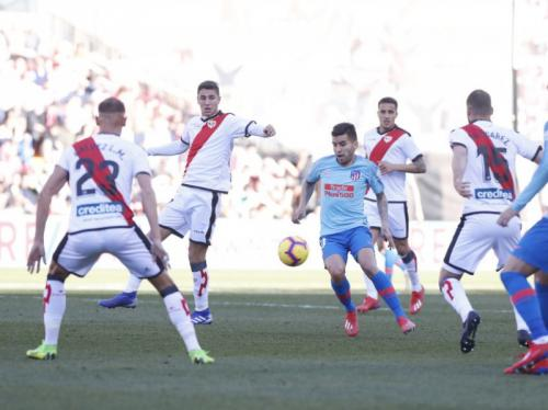 Rayo Vallecano vs Atletico Madrid (Foto: laman resmi La Liga)