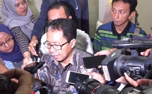 Joko Driyono sedang tersandung masalah hukum