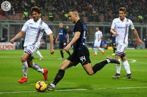 Inter vs Sampdoria (Foto: Twitter/@Inter_en)